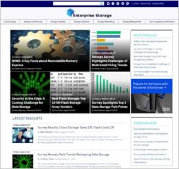Preview of Enterprise Storage Forum
