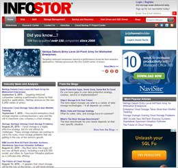 Preview of InfoStor