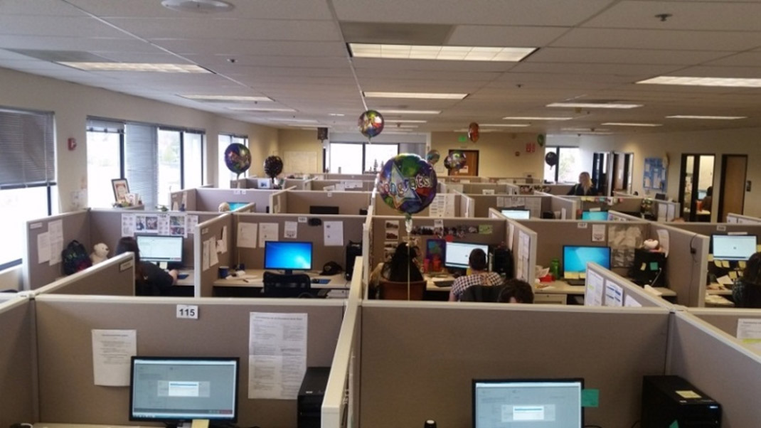 Snapshot of QuinStreet's Call Center